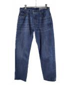 LEVIS VINTAGE CLOTHING(リーバイス ヴィンテージ クロージング)の古着「1967'カスタマイズドデニムパンツ」|ブルー