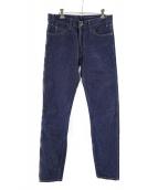 LEVIS VINTAGE CLOTHING(リーバイス ヴィンテージ クロージング)の古着「606 1960sスキニーリジットデニム」|インディゴ