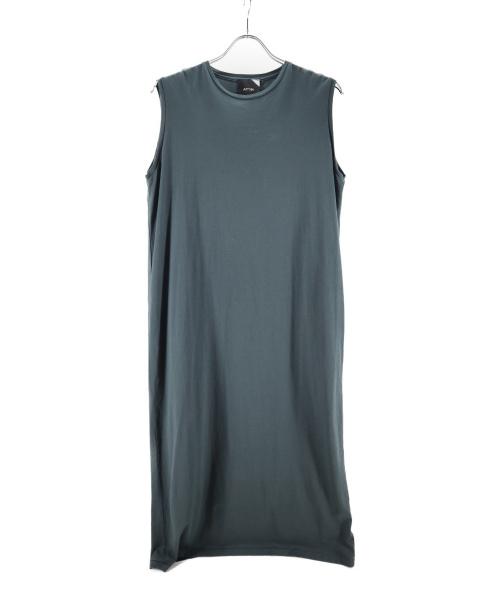 ATON(エイトン)ATON (エイトン) タントップドレスワンピース グリーン サイズ:2の古着・服飾アイテム