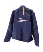 PUMA×ADER ERROR(プーマ × アーダーエラー)の古着「フーデッドウィンドブレーカージャケット」|ネイビー