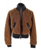 DIESEL(ディーゼル)の古着「ボアジャケット」|ブラウン