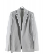 KAIKO(カイコー)の古着「ボタンレスジャケット」|ライトグレー
