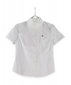 Vivienne Westwood RED LABEL(ヴィヴィアンウエストウッド レッドレーベル)の古着「半袖刺繍シャツ」|ホワイト