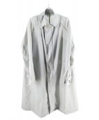kolor/BEACON(カラービーコン)の古着「ナイロンハードタフタコート」 グレー