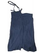Ys(ワイズ)の古着「ワンショルダースカート」|ブラック