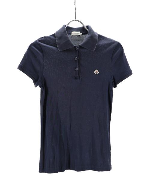 MONCLER(モンクレール)MONCLER (モンクレール) ポロシャツ ネイビー サイズ:XSの古着・服飾アイテム