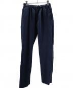 ゴーシュ(ゴーシュ)の古着「リネン混パンツ」|ネイビー