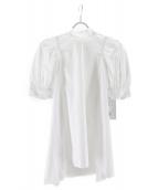 CELFORD(セルフォード)の古着「バックリボンボリュームトップス」|ホワイト