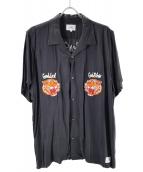 CRIMIE(クライミ)の古着「アロアレオパードシャツ」|ブラック