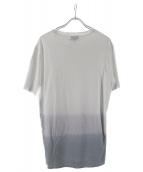 LANVIN(ランバン)の古着「グラデーションポケットTシャツ」|ホワイト