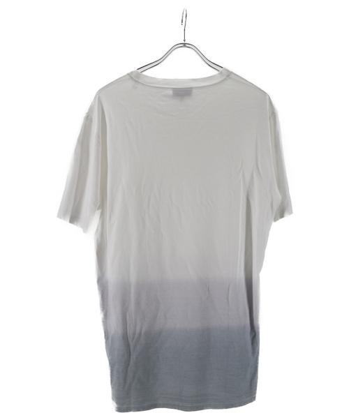 LANVIN(ライバン)LANVIN (ランバン) グラデーションポケットTシャツ ホワイト サイズ:Lの古着・服飾アイテム
