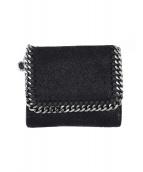 STELLA McCARTNEY(ステラ・マッカートニー)の古着「2つ折り財布」|ブラック
