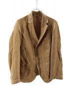 45R(フォーティファイブアール)の古着「リネンダックASAMAジャケット」|ベージュ
