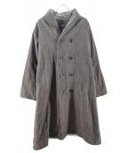 45R(フォーティファイブアール)の古着「カルゼコットンツイードのコート」|ブラウン