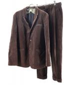 N.HOOLYWOOD(エヌハリウッド)の古着「コーデュロイセットアップ」|ブラウン