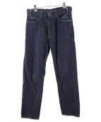UNUSED(アンユーズド)の古着「12ozリジット5ポケットデニムパンツ」|インディゴ