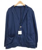 M.I.D.A.(ミダ)の古着「ストレッチ2Bジャケット」|ブルー