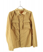 M.I.D.A.(ミダ)の古着「ポリナイロンフラットシャツジャケット」|イエロー