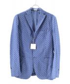 M.I.D.A.(ミダ)の古着「イタリアン3Bウールジャケット」|ブルー
