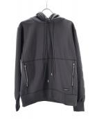 OVERDESIGN(オーバーデザイン)の古着「スタープルオーバーフーディ」|ブラック