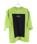 SHAREEF(シャリーフ)の古着「ビッグシルエットTシャツ」 グリーン