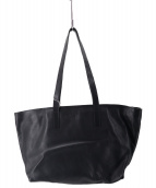 BUTTERO(ブッテーロ)の古着「ベビーカーフレザートートバッグ」|ブラック