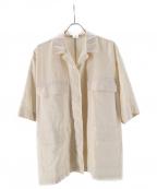 6(ROKU) BEAUTY&YOUTH(ロク)の古着「ポケットカバーオール」|アイボリー