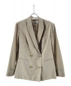 Snidel(スナイデル)の古着「シースルースリーブジャケット」|ベージュ