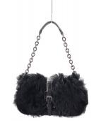 LONGCHAMP(ロンシャン)の古着「ワンショルダーバッグ」|ブラック