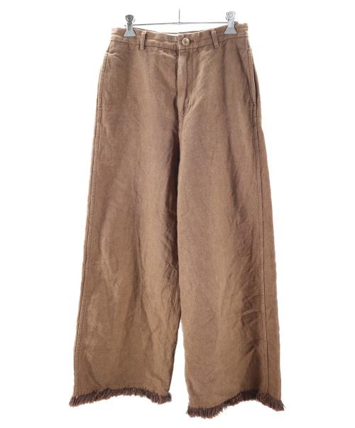 45R(フォーティファイブアール)45R (フォーティファイブアール) フォースオックスのパンツ ブラウン サイズ:1の古着・服飾アイテム