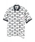 Supreme(シュプリーム)の古着「NFLライダースシャツ」|ホワイト×ブラック
