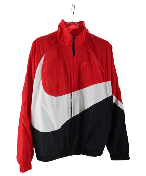 NIKE(ナイキ)NIKE (ナイキ) ウーブンジャケット レッド×ブラック サイズ:XSの古着・服飾アイテム