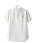 SCYEBASICS(サイベーシックス)の古着「オックスフォードボタンダウンシャツ」|ホワイト