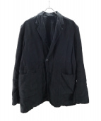 nestrobe confect(ネストローブ コンフェクト)の古着「リネンオーバーサイズジャケット」|ブラック
