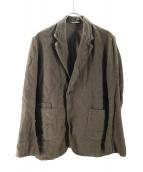 nestrobe confect(ネストローブ コンフェクト)の古着「リネンオーバーサイズジャケット」|カーキ