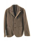 nestrobe confect(ネストローブ コンフェクト)の古着「ウール3Bジャケット」 ブラウン
