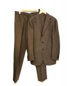 RING JACKET(リングジャケット)の古着「セットアップスーツ」|ブラウン