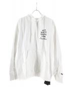 ANTI SOCIAL SOCIAL CLUB × NEIGHBORHOOD(アンチソーシャルソーシャルクラブ × ネイバーフッド)の古着「パーカー」|ホワイト