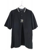 Y-3(ワイスリ)の古着「ロゴポロシャツ」|ブラック