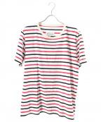 Maison Margiela 10(メゾンマルジェラ 10)の古着「ボーダーTシャツ」 レッド×ホワイト