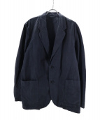 nestrobe confect(ネストローブ コンフェクト)の古着「スーピマバイオタンブラージャケット」 ネイビー