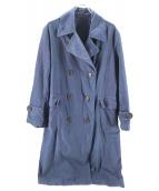 45R(フォーティファイブアール)の古着「粟サテンの908ピーコート」|インディゴ