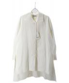 CABaN(キャバン)の古着「コットンシャツワンピース」|ホワイト
