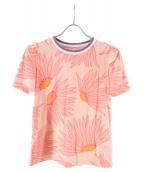 Kate Spade(ケイトスペード)の古着「フォーリング フラワー Tシャツ」|オレンジ