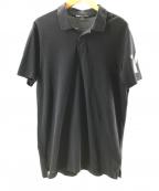 Y-3()の古着「クラシックポロシャツ」|ブラック