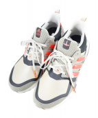adidas × STAR WARS(アディダス スターウォーズ)の古着「スニーカー」|グレー×レッド