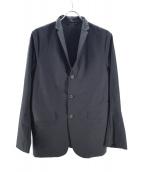 DESCENTE PAUSE(デサントポーズ)の古着「ストレッチパッカブル3Bジャケット」|ブラック