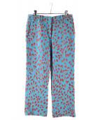 N°21 NUMERO VENTUNO(ヌメロヴェントゥーノ)の古着「刺繍パンツ」|ブルー