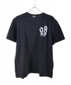 COMME des GARCONS HommePlus(コムデギャルソンオムプリュス)の古着「プリントTシャツ」 ブラック