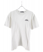CDG(コム・デ・ギャルソン)の古着「ロゴプリントTシャツ」 ホワイト